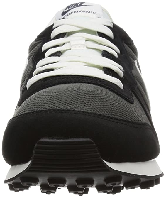 new style 6b0f3 baf7d NIKE Men s Internationalist Low-Top Sneakers, (Deep Pewter Black Anthracite Wolf  Grey sail), 6 UK  Amazon.co.uk  Shoes   Bags