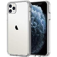 JETech Funda Compatible iPhone 11 Pro MAX (2019) 6,5″, Carcasa Anti-Choques y Anti- Arañazos (Transparente)