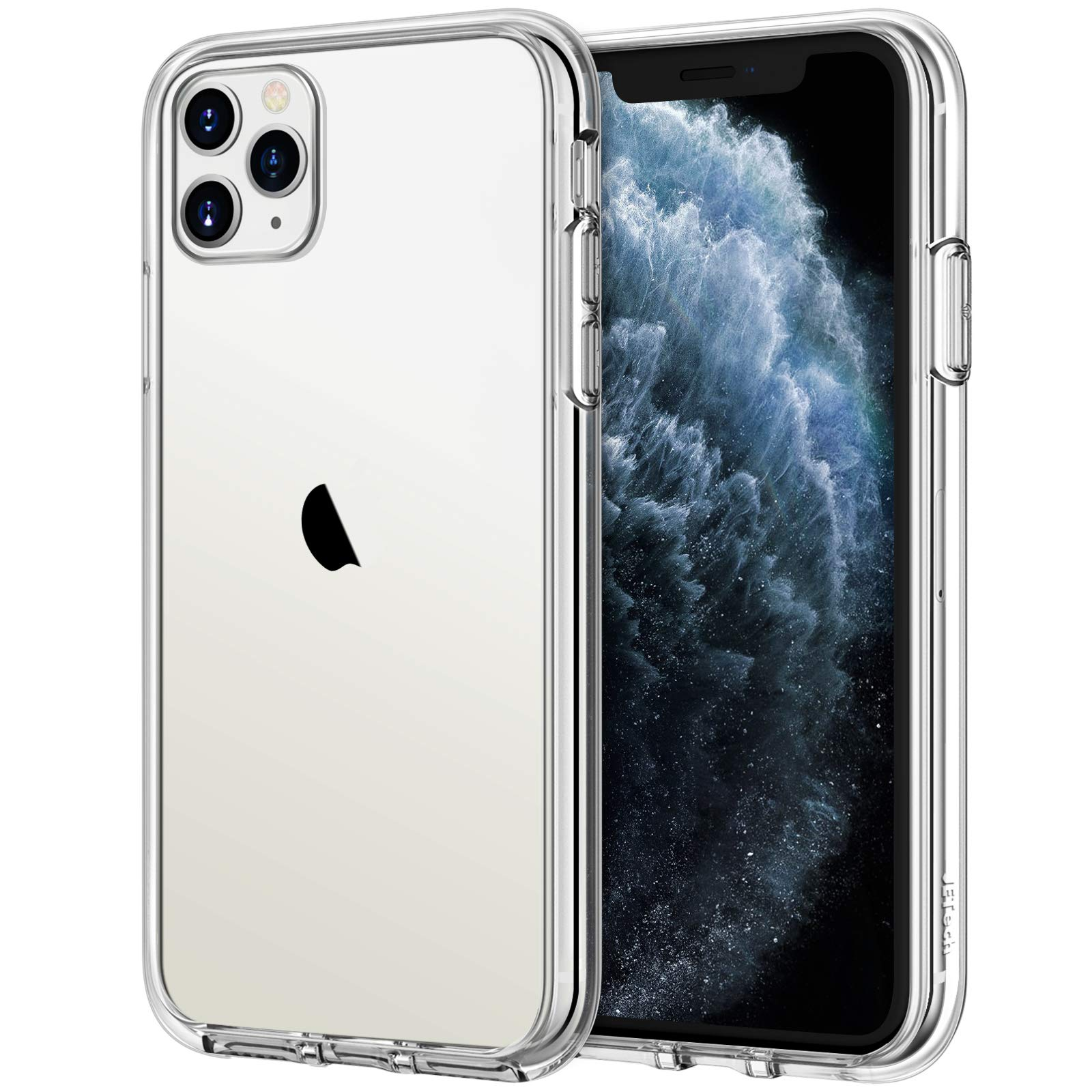JETech Case for iPhone 11 Pro Max (2019), 6.5-Inch, Shockproof Transparent Bumper Cover, Anti-Scratch Clear Back, HD Clear