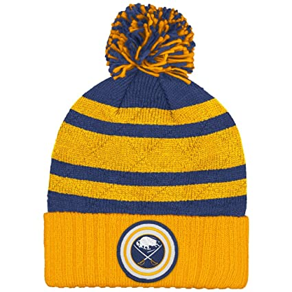 95f3dab508f ... reduced buffalo sabres mitchell ness nhl quotquilted crownquot cuffed knit  hat 2b787 fb828