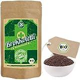 Bio Keimsprossen Brokkoletti (Brokkoli Raab) zum Keimen - 200g - BIO - verlässlich hoher Sulforaphangehalt - kurze Keimzeit - für leckere, vitalstoffreiche, frische Sprossen & Keimlinge
