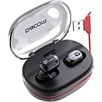 Dacom True Bluetooth Earbuds with 1100mAh Backup Charging Case