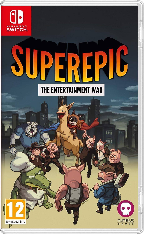 SuperEpic: The Entertainment War - Nintendo Switch [Importación inglesa]: Amazon.es: Videojuegos