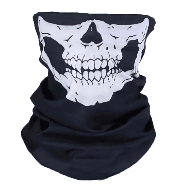 New Skeleton Skull Bandana Snowboard Ski Motorcycle Bike Rave Paintball Mask 01021
