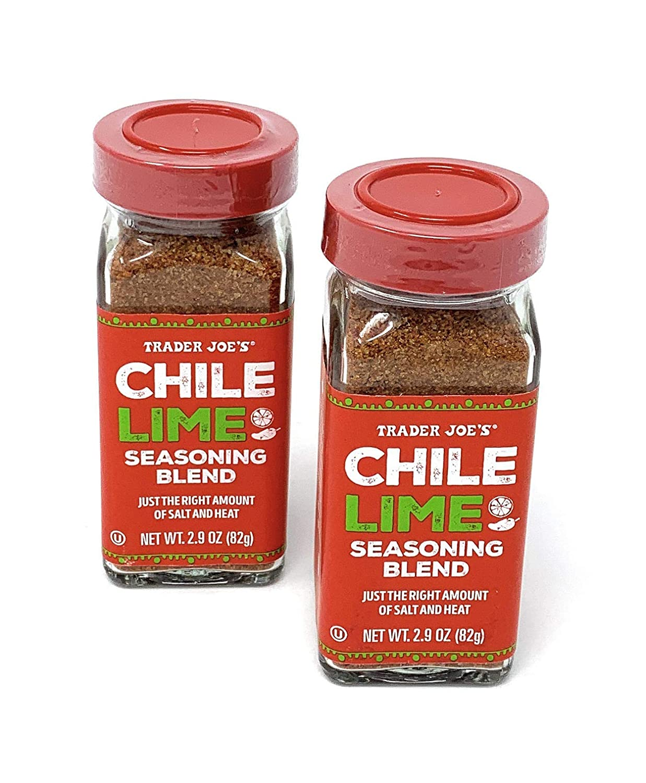 Trader Joe's Chile Lime Seasoning Blend, 2.9 oz - PACK OF 4