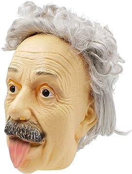 PartyHop Albert Einstein Mascara De Halloween Mascara De Humanos Realista De La Gente Famosa Celebridad