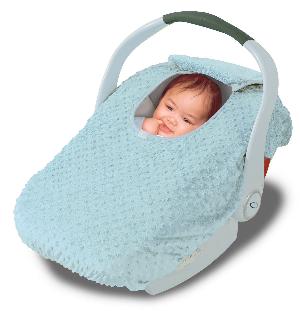 Car Seat Cover - Cover For Your Baby In Their Car Seat - Aqua