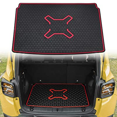 Bentolin Rear Cargo Liner Truck Cargo Tray Floor Mat Protector for Jeep Renegade 2015 2016 2020 2020 2020: Automotive
