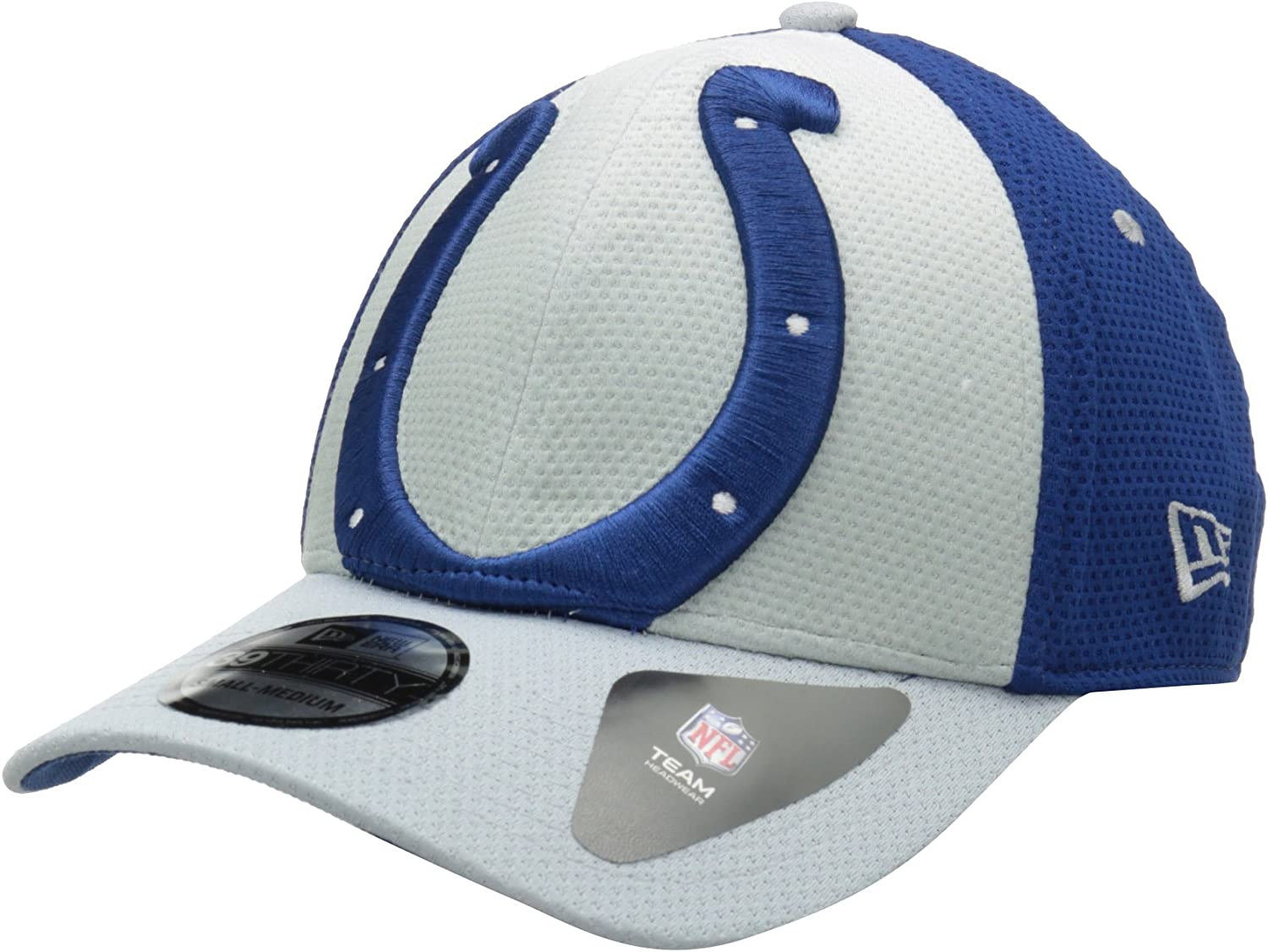 NFL Child Indianapolis Colts On Field 5950 Royal Blue Game Cap By New Era