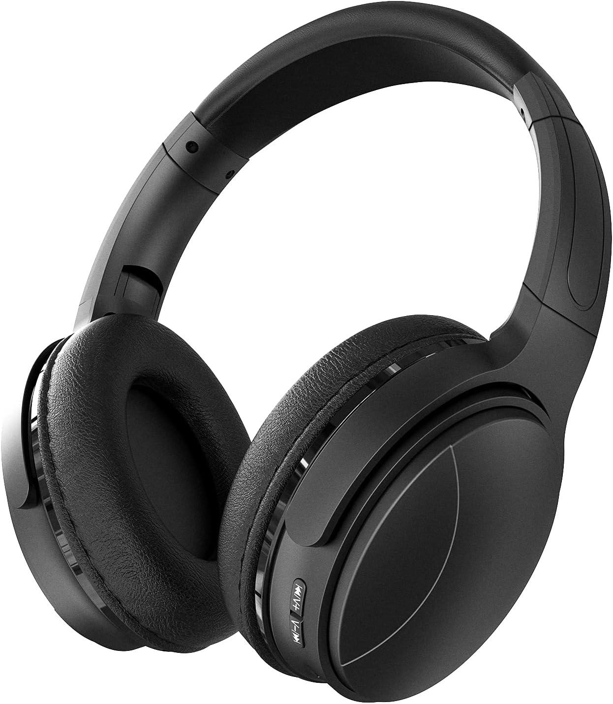 Auriculares Inalámbricos Cascos Bluetooth Cerrados Audifonos Diadema Plegables Graves Profundos Estéreo Inalámbricos Micrófono Incorporado Micro SD/TF, FM (para iPhone/Samsung/iPad/PC)