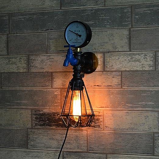 Crayom Edison Vintage Industrial Loft Lámparas de pared de pared ...