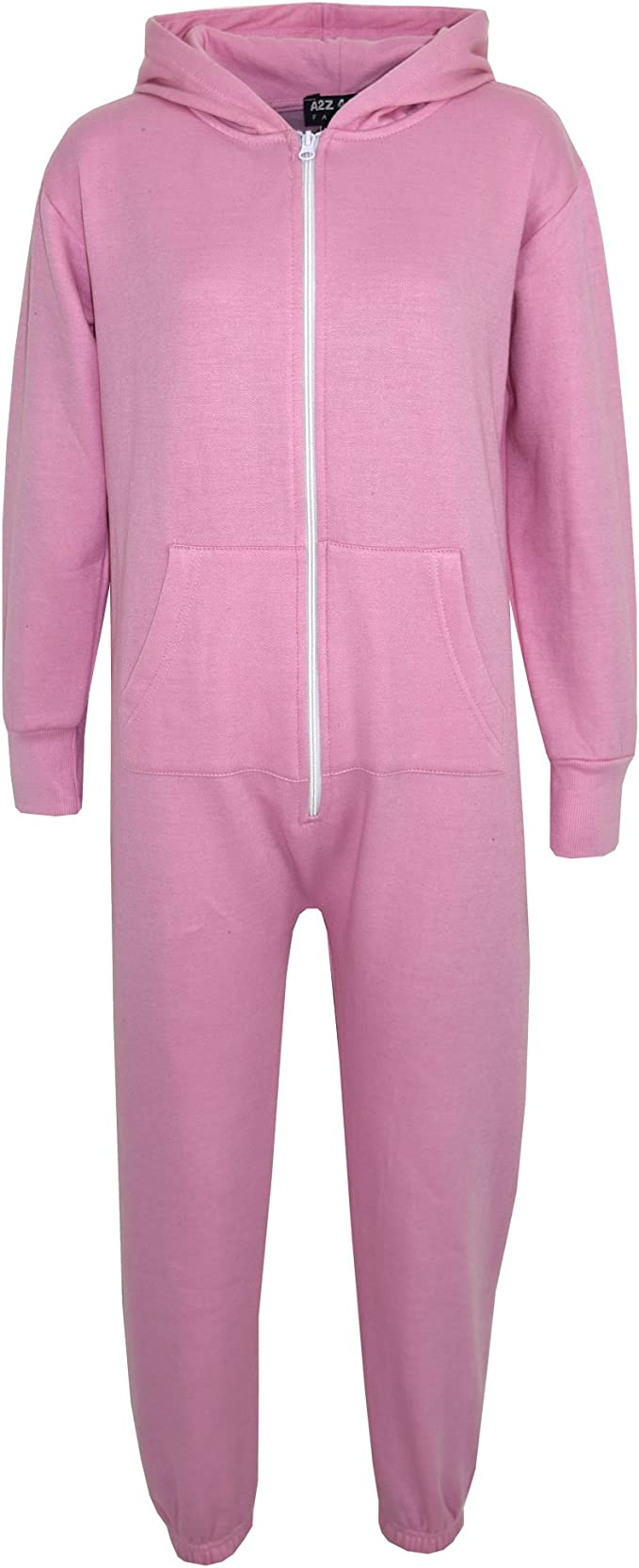 Girls Fleece 1Onesie Age 2-3 Years Pyjamas All In One Set Purple Pink One Piece