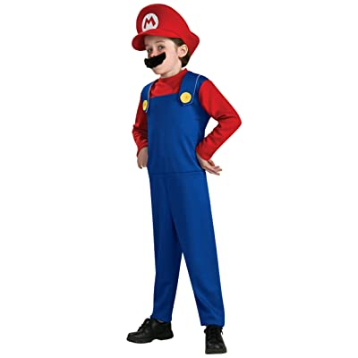 Super Mario Brothers, Mario Costume, Medium: Toys & Games
