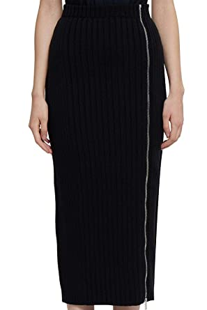 PALM ANGELS PWHI007E196850371000 Falda Negra para Mujer | Otoño ...