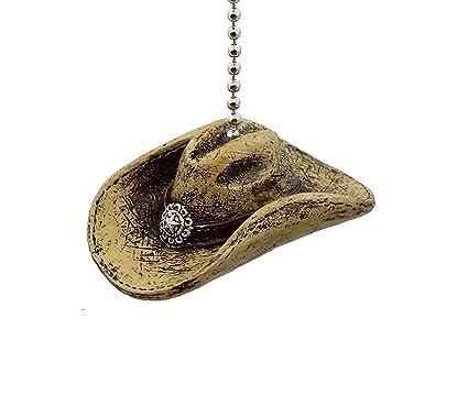 Large western cowboy hat ceiling fan light pull amazon large western cowboy hat ceiling fan light pull aloadofball Gallery