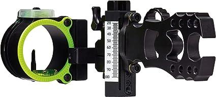 .019 New Black Gold Ascent Verdict Single Pin RH Bow Sight Black Model# AV1