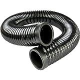 ramair Filtres cad60–1000bk-2Feed Noir conduits d'air froid, 60mm x 1m
