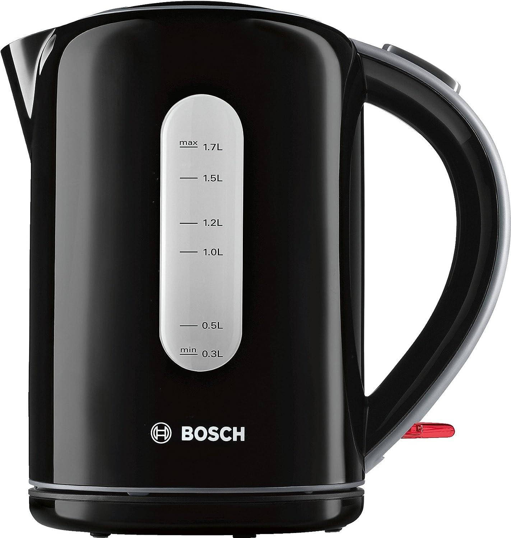 Kettle, 1.7 l, Black, TWK7603, 2200W Boiling water - elegantly and easily קומקום חשמלי נשלף,שחור, בוש