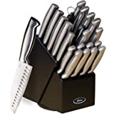 Gibson Oster 70562.22 Baldwyn 22-Piece Cutlery Block Set