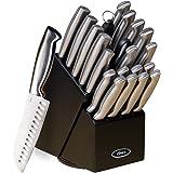 Oster Juego de cuchillos de acero inoxidable de alto carbono