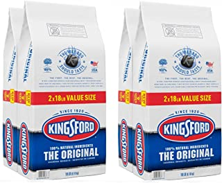 product image for Kingsford (4 Pack) Original Charcoal Briquettes, BBQ Charcoal for Grilling - 18 Pounds Each