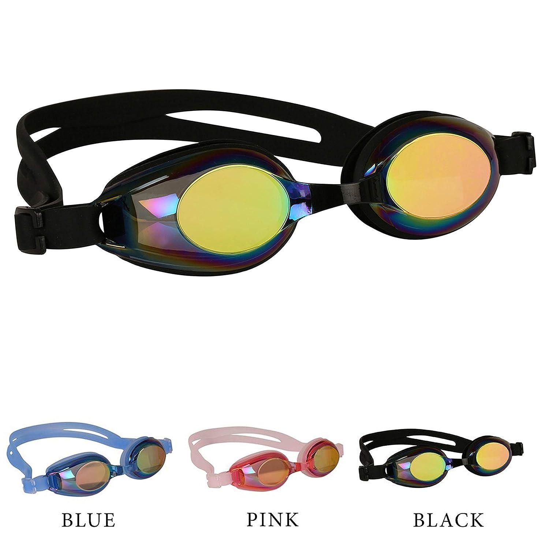 a8212fc048 Bezzee-Pro Gafas de natación para niños y Adolescentes - Antiempañado, Anti  UV, Transparente Gafas para Nadar para Niño - Incluye Puente Nasal  Ajustable, ...