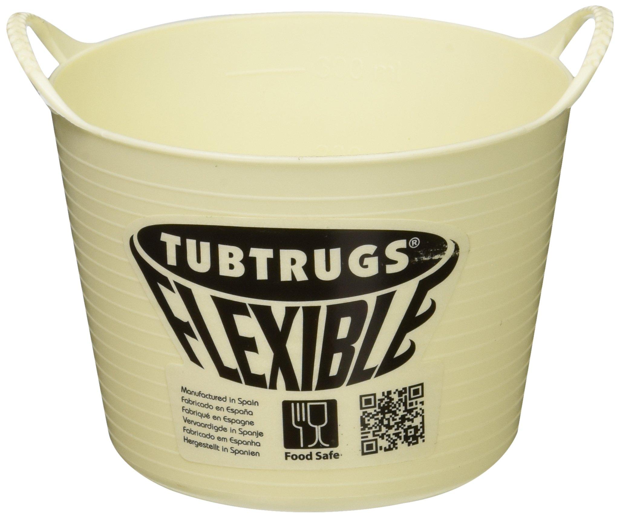 Tubtrugs SPMICVAN Flexible Vanilla Micro .37 Liter/12.5 Ounce Capacity