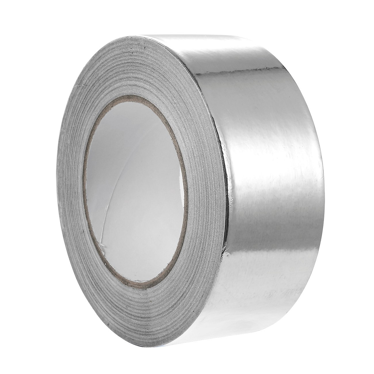 1 Piece Aluminum Foil Tape - All-Purpose Multi-Surface Silver Adhesive Duct Tape Equipment Repair, Industrial Work - 55 yards