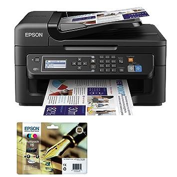 Epson WF-2630WF - Impresora multifunción de tinta + Epson ...