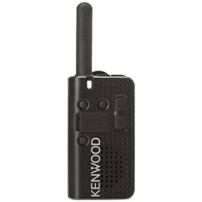 Kenwood PKT-23 Pocket-Sized UHF FM Portable Radio, 1.5 Watts, 4 Channels (Single Pack): Industrial & Scientific