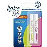 Lip Ice Protetor Labial Soft Limonada e Framboesa FPS20
