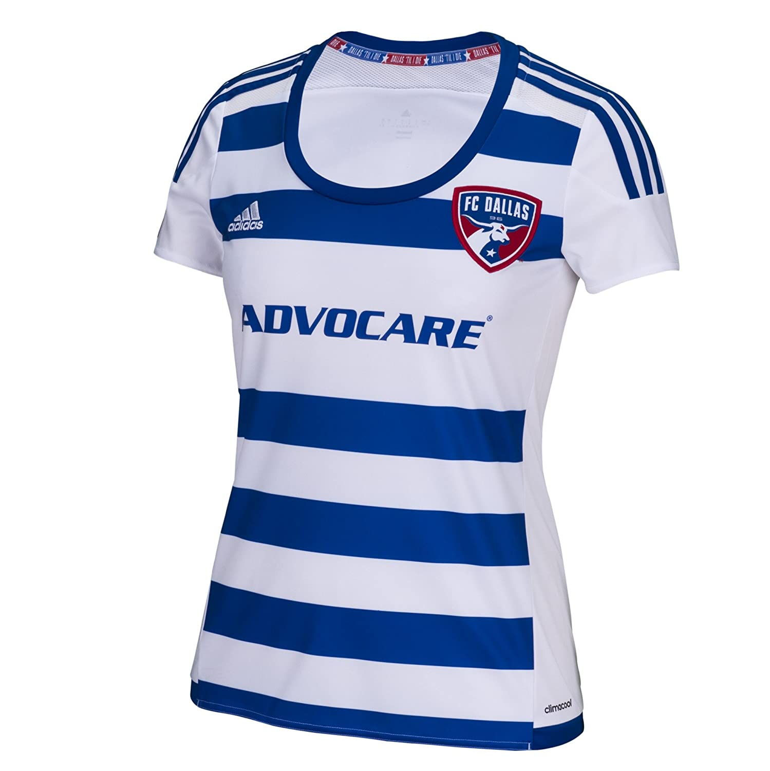 new concept cc332 5a753 Amazon.com : MLS FC Dallas Women's Replica Short Sleeve ...