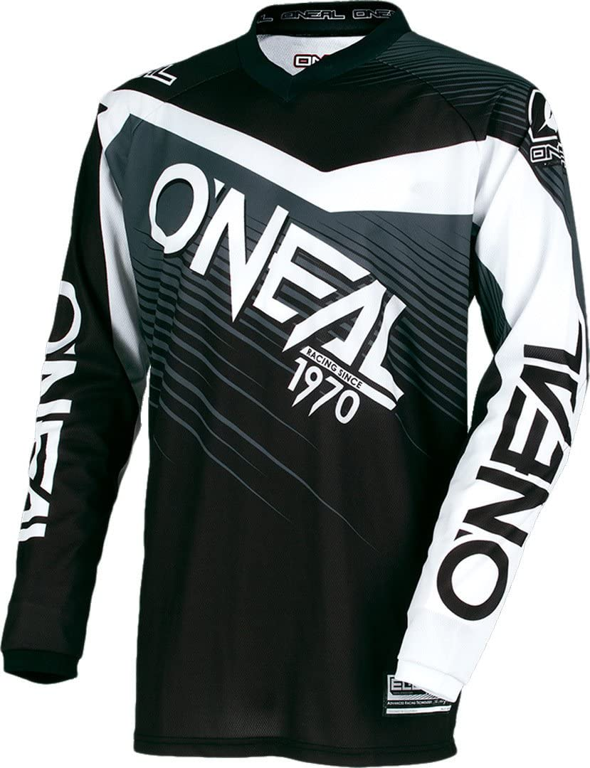 0008 ONEAL ELEMENTO Racewear MX motocross Maglia jersey enduro fuoristrada FUORISTRADA QUAD CROSS adulti