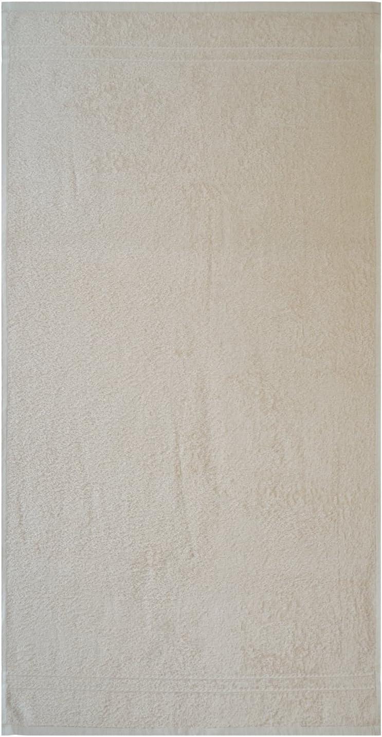 Baumwolle 26 x 36 cm beige Dyckhoff Kristall Handtuch-Set