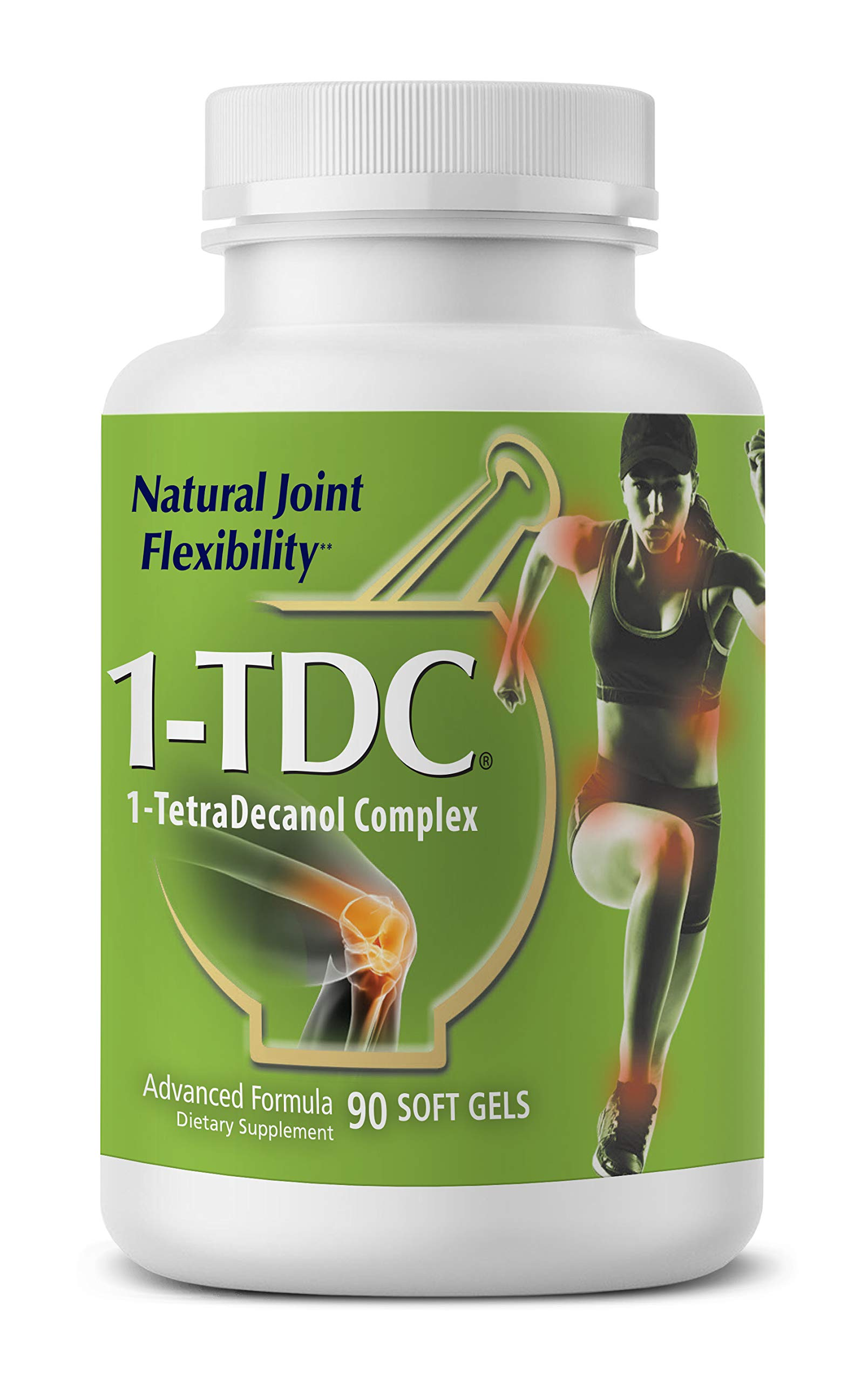 1TDC - Joint & Muscle Health - 90 Soft Gels - Formulated to Provide Complete Body Relief - Enhanced with 1-TetraDecanol Complex to Promote Natural Joint Flexibility - Safe & Effective by 1-TDC