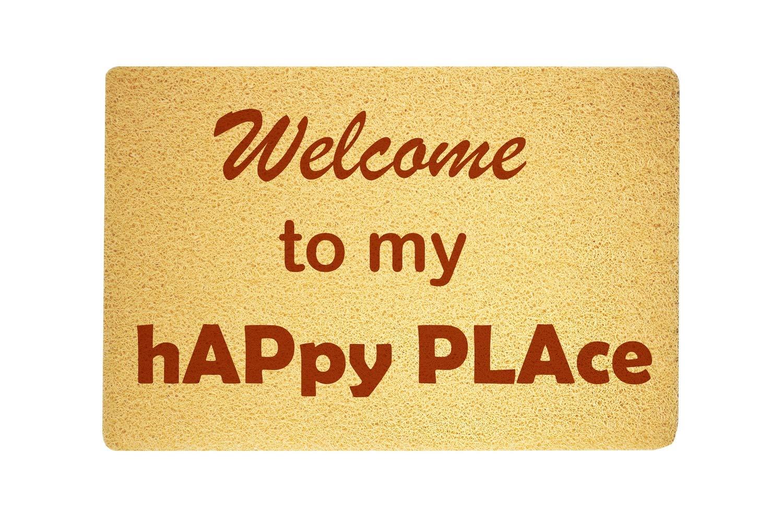 com welcome to my happy place door mat sweet home supplies
