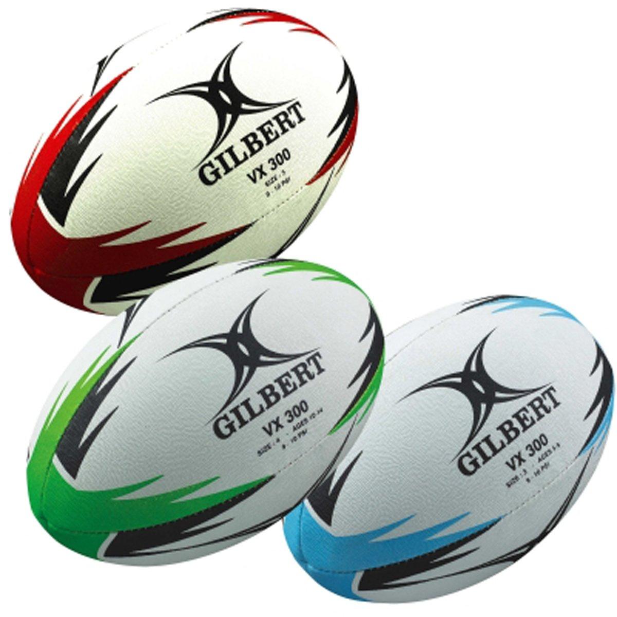 GILBERT VX300 - Balón de Rugby, Multicolor: Amazon.es: Deportes y ...