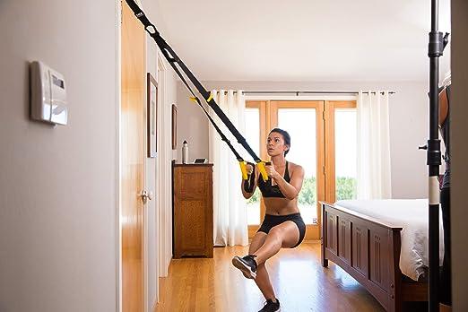 TRX ALL-IN-ONE - Sistema de resistencia corporal: entrenamiento de cuerpo entero para casa, viajes y al aire libre para músculos, quemar grasa, ...