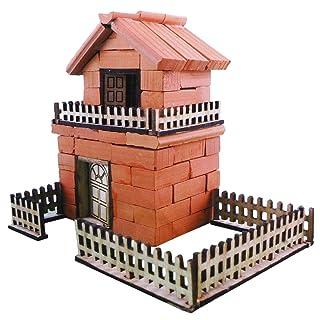 YeahiBaby Ceramics Building Cottage Fantasy Castle Building Kit Casa Educational Assemblato a Mano Modello Fantastic Castle Mini Foreign House