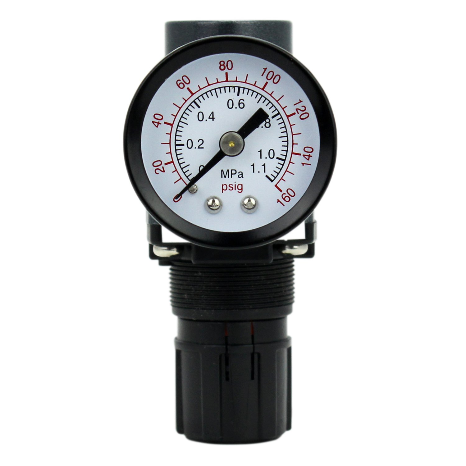 EXELAIR by Milton FRL (Mini) Air Regulator - 1/4'' NPT (EX25R-02) by EXELAIR