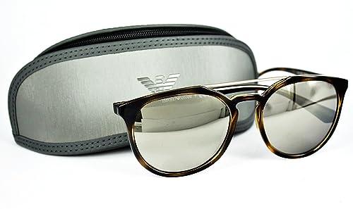 Emporio Armani 4103, Gafas de Sol Unisex, Havana 50265A, 56