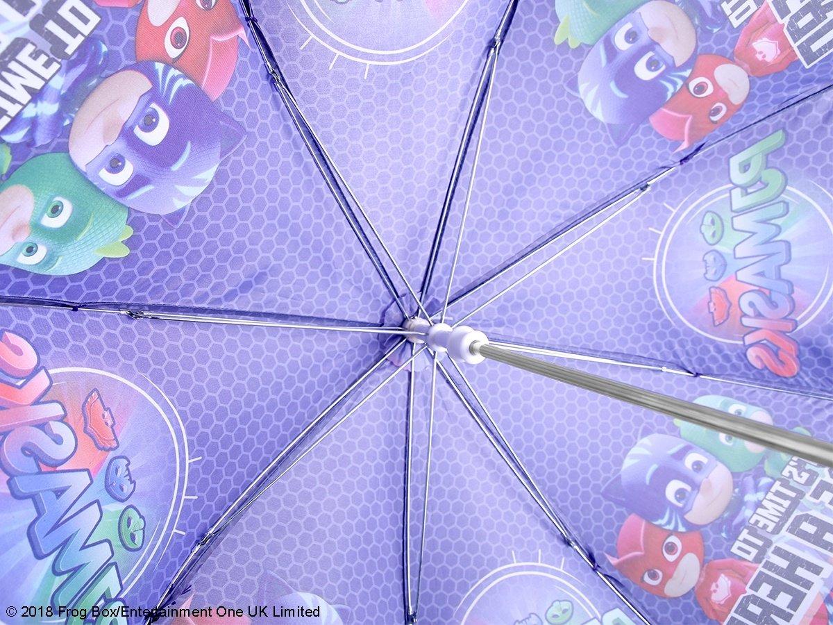 PERLETTI 75419/Boy 38//8/Uomo Stampato PJ Masks Sicurezza Aperto Ombrello