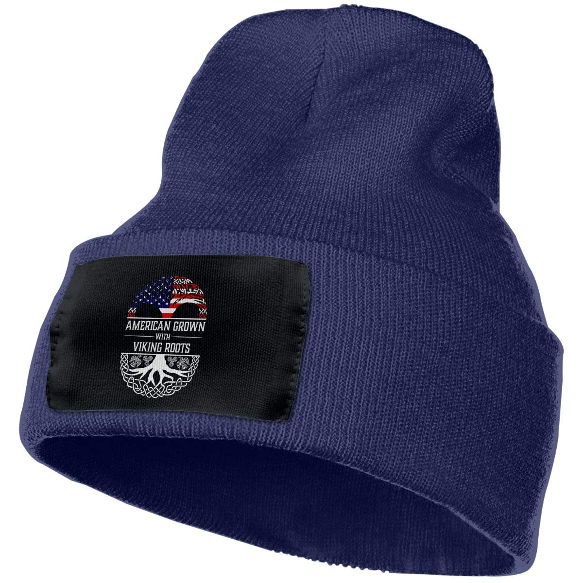 American Grown with Viking Roots Unisex Cap