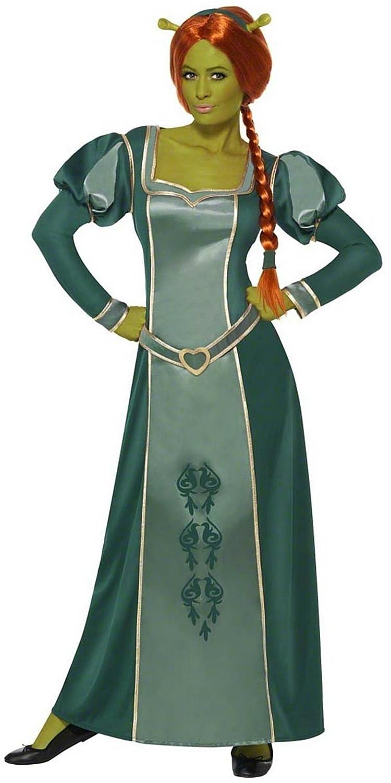 Amazon.com Smiffyu0027s Womenu0027s Princes Fiona Shrek Fancy Dres Costume Plu Wig And Ogre Ears Women 12-14 Green Clothing  sc 1 st  Amazon.com & Amazon.com: Smiffyu0027s Womenu0027s Princes Fiona Shrek Fancy Dres Costume ...