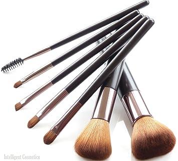 Make Up Pinsel 7 Teiliges Set Mit Synthetischen Borsten Und