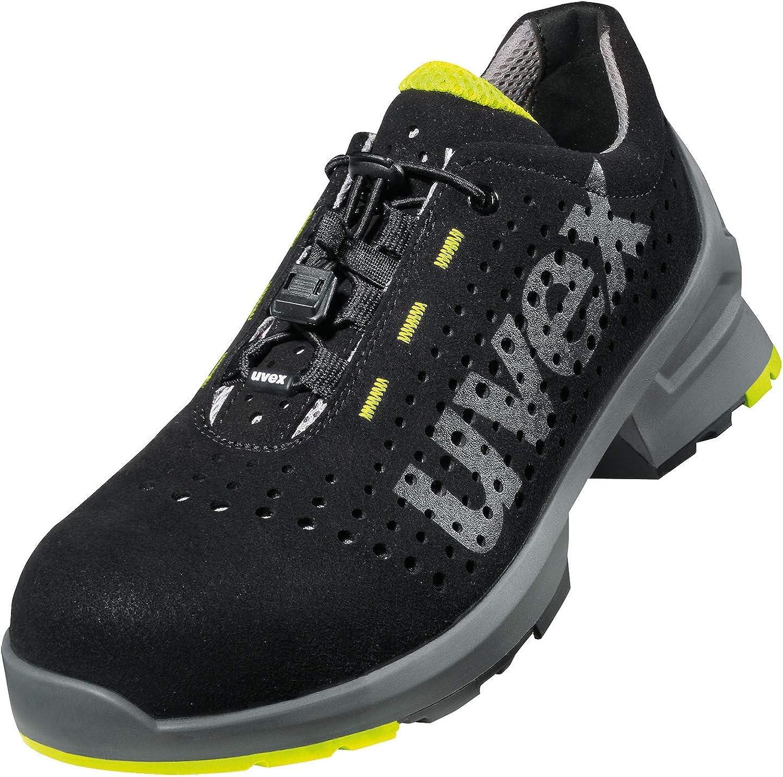 Uvex Chaussures de Securité Basse 1 S1 SRC | Semelle Antidérapante | Basket de Sécurité Résistante à l'huile et au Pétrole | Embout de Protection des