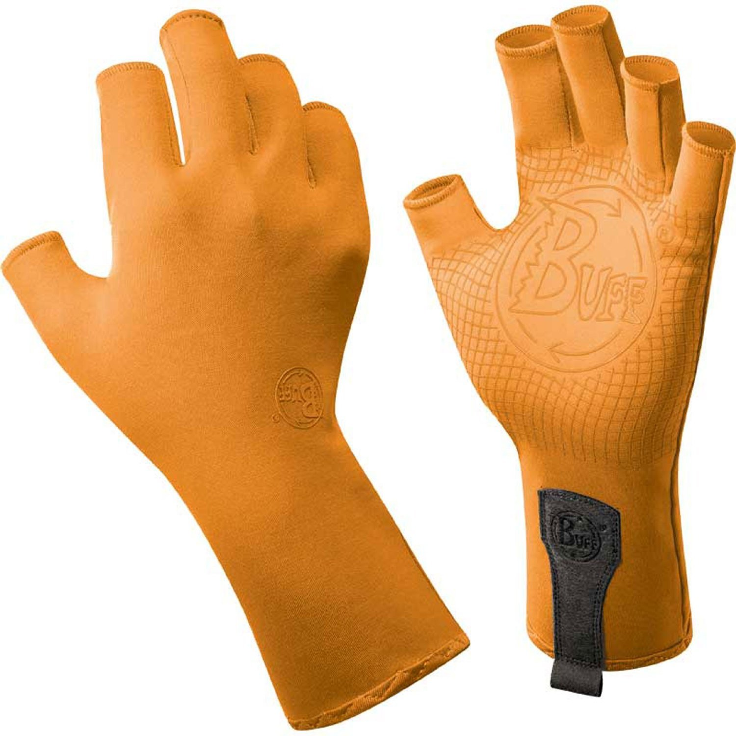 Buff Adult Sport-Series Water Gloves Medium/Large Solar Orange