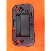 Protector de goma suave silicona funda Skin Cover Para Nintendo Wii U driver de juegos Negro