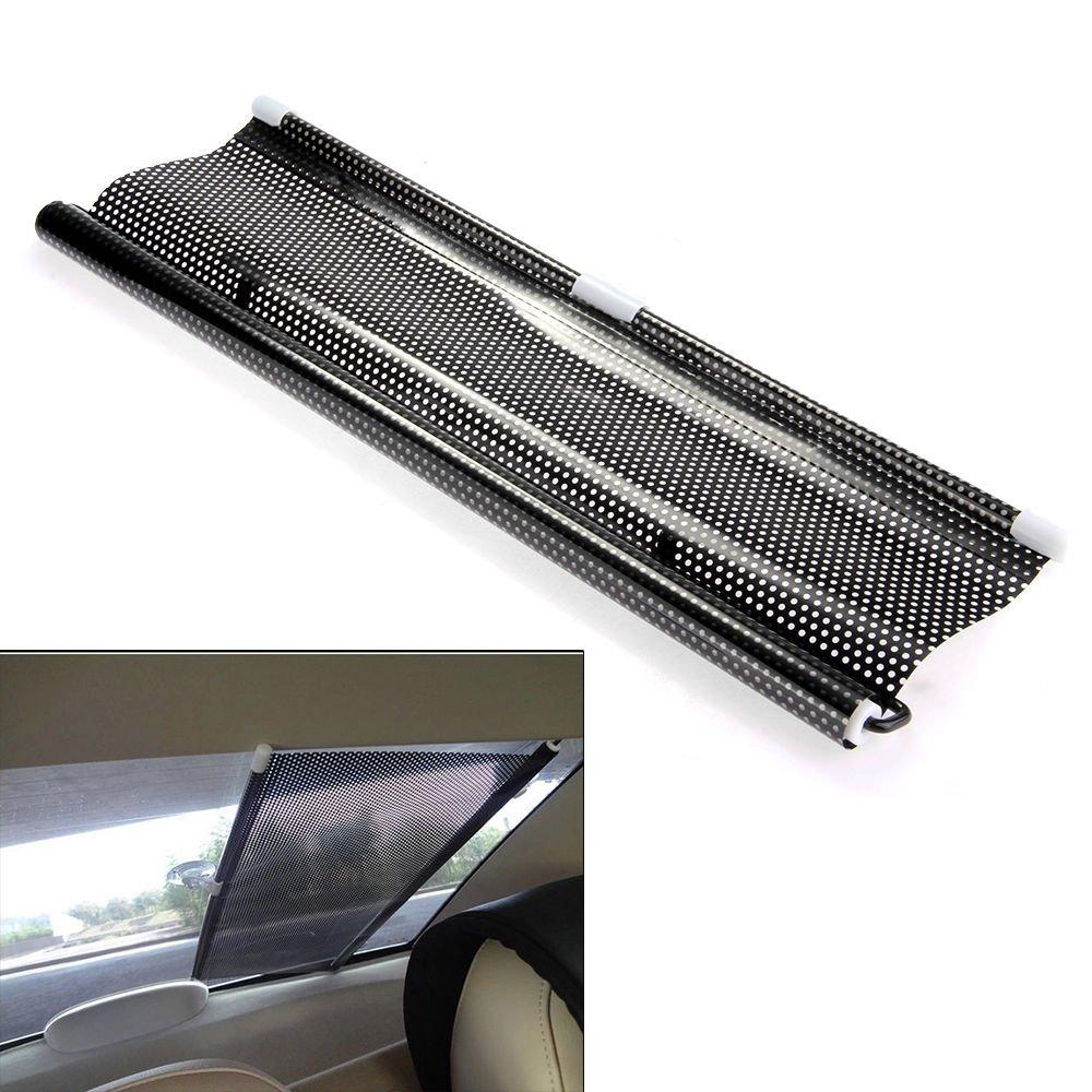 Yosoo Universal Folding Car Retractable Side Window Sunshades//Sunblinds Curtain Roller Blind Sunshade Sun Shades Shield Visor