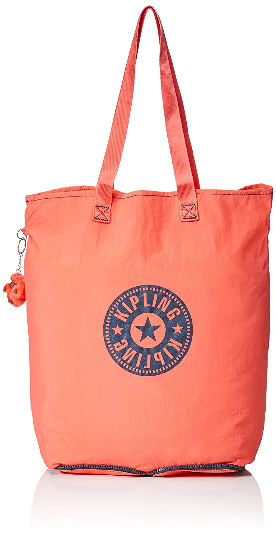 Kipling Hip Hurray 5, Sacs portés épaule Cabas femme Orange (Galaxy Orange) 40.5x40.5x14.5 cm (B x H T) K48425